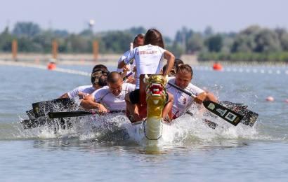 Die Drachenboot-EM in Szeged