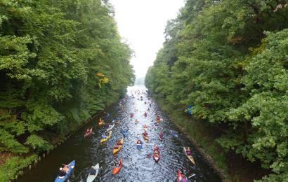 1.000seen Marathon lockt Paddler auf die Mecklenburgischen Seenplatte