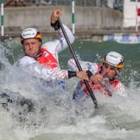 Slalom-Kanuten des DKV nutzen Ihren Heimvorteil in Markkleeberg