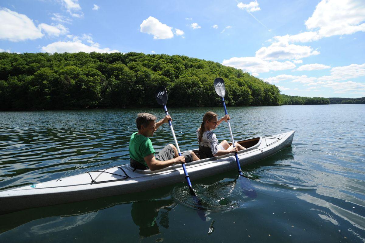 Eine Kanutour in der Feldberger Seenlandschaft