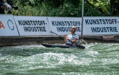 2 mal Kanu-Slalom Gold beim Heimweltcup