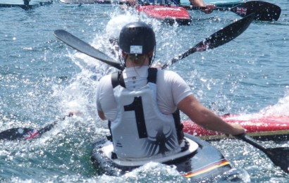 Internationale Kanu-Polo Elite bei der Vortex Kayaks Rhein-Ruhr-Trophy 2019