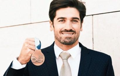 Eine sportliche Geste von Eivind Vold beschert Javier Hernanz WM-Bronze