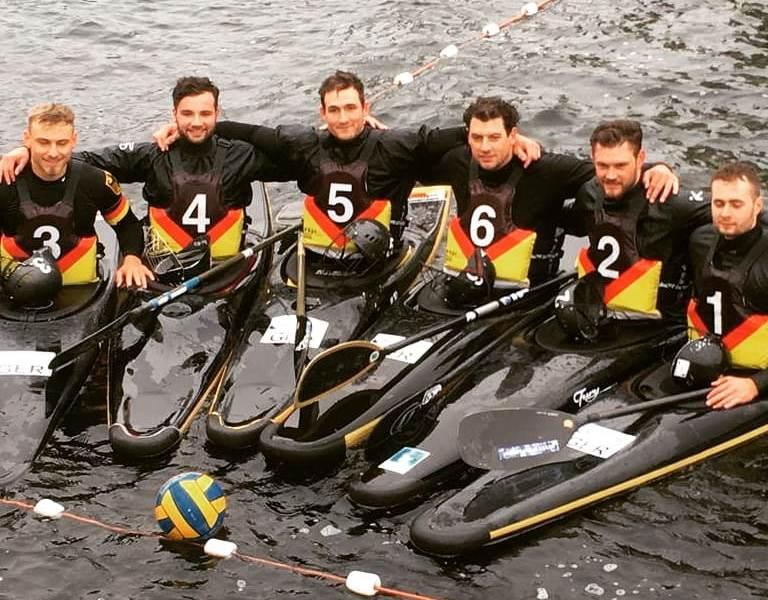 Kanu-Polo Herrennationalmannschaft gewinnt HOKA Challenge