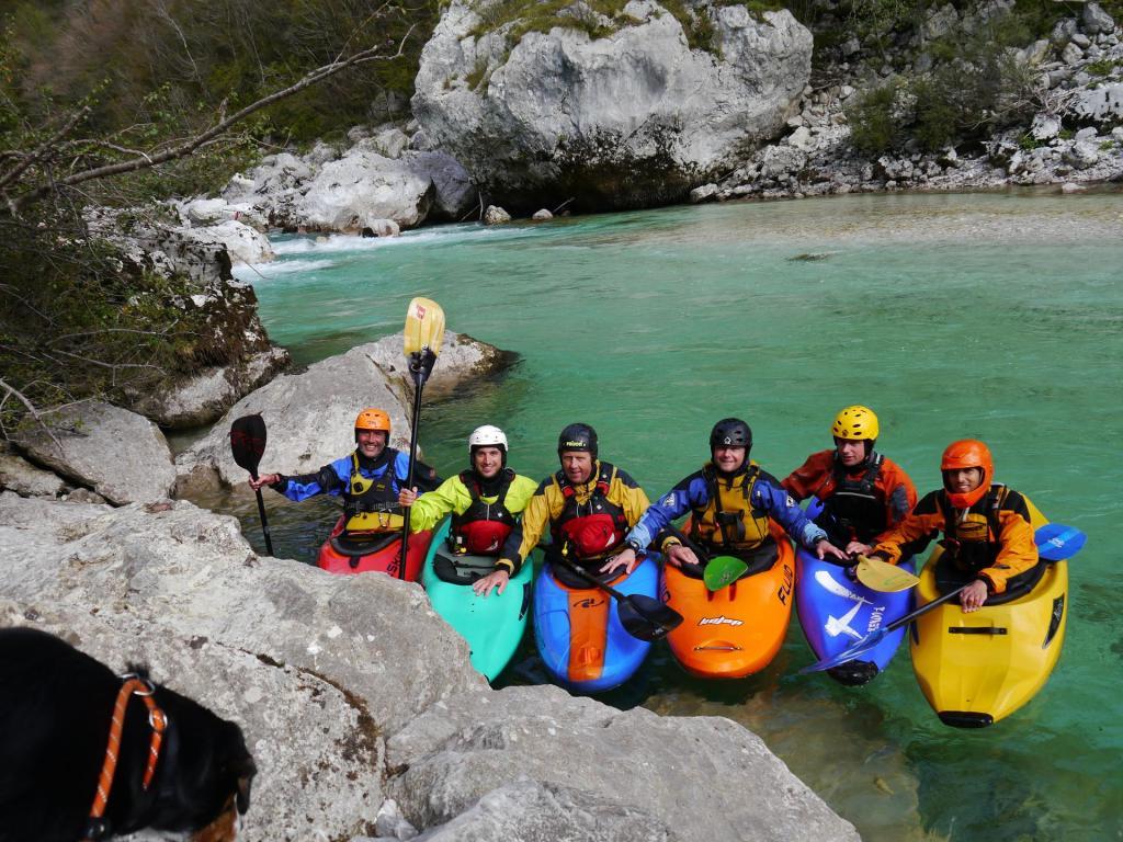 Wohlgenährt am Wildwasser der Soča