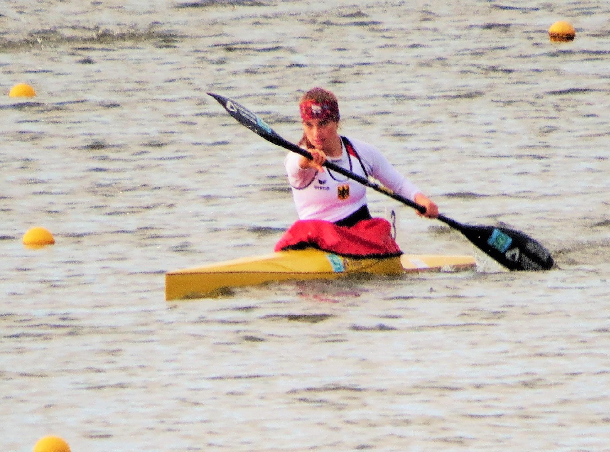 Read more about the article K1-Bronze bei den Olympic Hope Games für Pauline Zetzmann