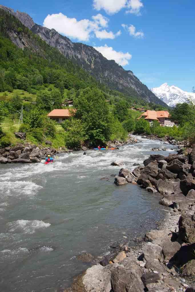 Sonne tanken in der Schweiz