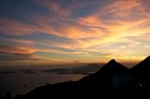 Sunset at the peak Hong Kong