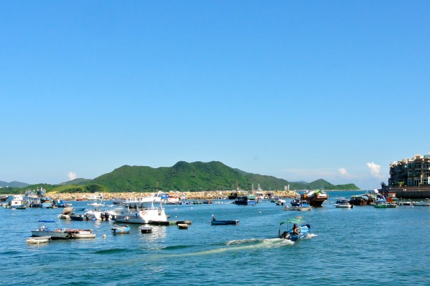 View from Sai Kung promenade