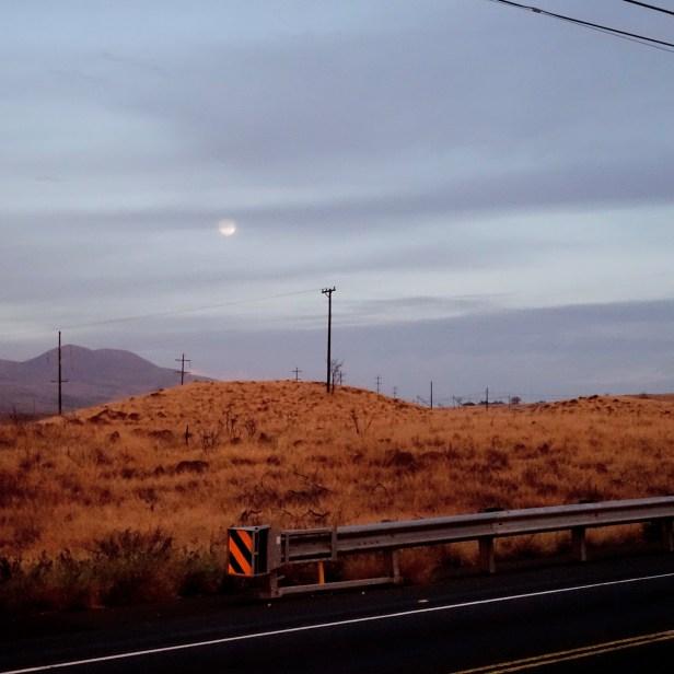 Moonrise at Kohala Coast