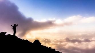 Sunset at Halekala Crater summit
