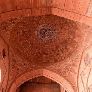 Buland Darwaza ceiling