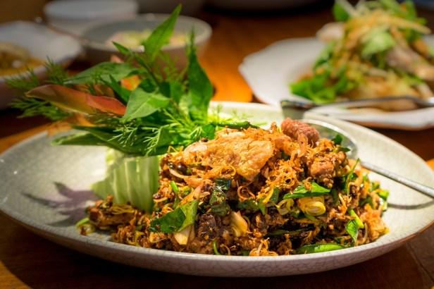 Chiang Mai Larp of Guinea Fowl Nahm Bangkok