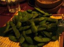 夕取りの茶豆