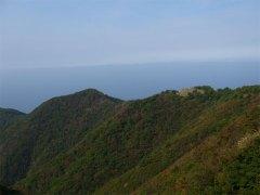 弥彦山からの日本海