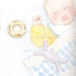 泣いている赤ちゃん イラスト