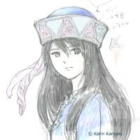 キャラクターデザイン 少女