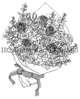 花束 イラスト