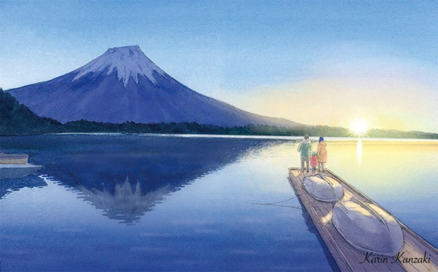 静岡富士山初日の出