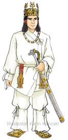古墳時代の王 衣装