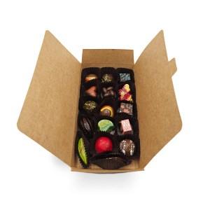 boite 16 chocolats fins kao chocolat