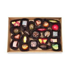 boite 22 chocolats fins kao chocolat