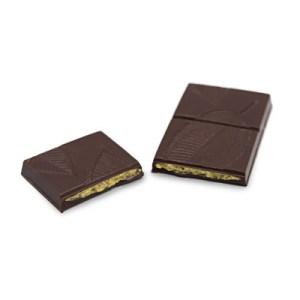 tablette praline noir 55g kao chocolat