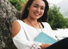 Poet, writer and Windward Community College student Ashley Shankles (a.k.a, Ashley Nakanishi) – Patrick Hascall