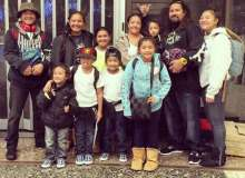 The Furtado-Tom 'ohana was once homeless in Waimanalo – Courtesy of Rachell Furtado-Tom