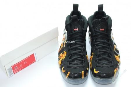 Nike Air Foamposite One Black Suede Nice Kicks
