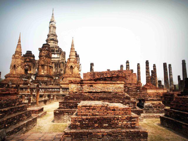 Ancienne architecture de temple