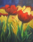 Tulips, 16x20