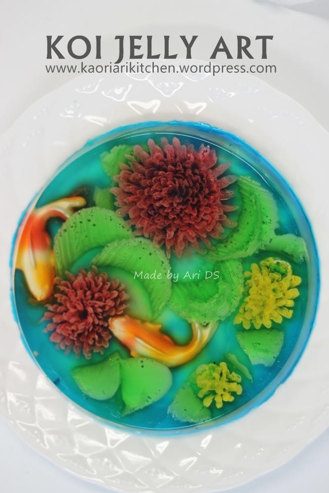 Pudding Art  kaoriarikitchen