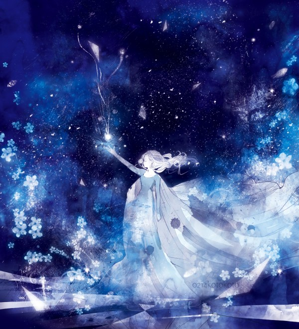 Frozen Elsa the Snow Queen Anime