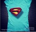 Kaos SUPERMAN Logo Cewek 3D