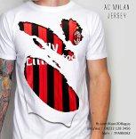 Kaos Milan Jersey 3D