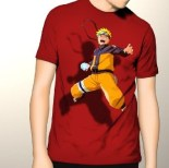 Kaos Naruto 3D Eksklusif RED