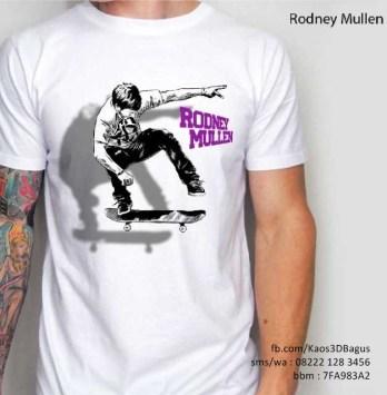 Kaos Skater Rodney Mullen 3D, Skateboarding T-Shirt 3D