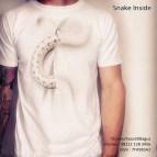 kaos gambar ular, reptil mania, pecinta ular