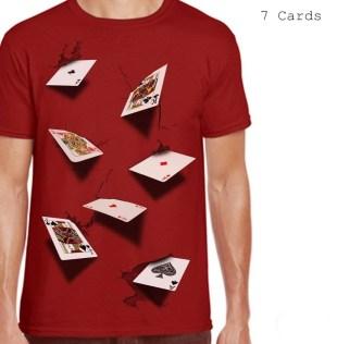 Kaos 7 Cards RED