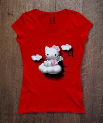 Kaos HELLO KITTY (semua warna tersedia)