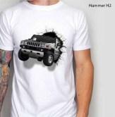 Kaos Hummer H2, Kaos Mobil HUMMER H2 3 Dimensi