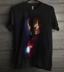 jual kaos Iron Man Shadow 3D, kaos 3D umakuka