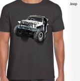 Kaos JEEP 3D Dark Grey, Kaos Komunitas JEEP 3D, Jeep Lover