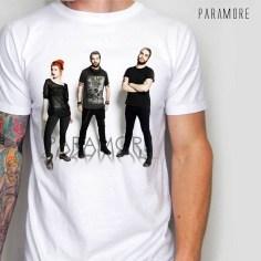 kaos PARAMORE, Modern Rock 3D T-shirt, umakuka clothing