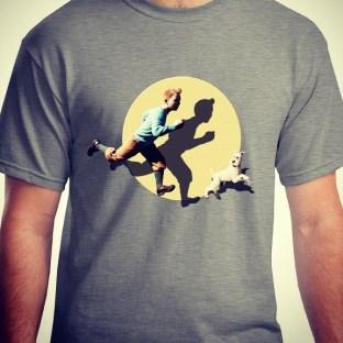 Tintin & Snowy GREY