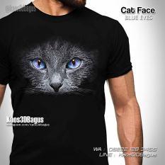 Kaos Gambar Kucing, Kaos Cat Lovers, Kaos 3 Dimensi