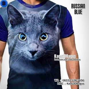 Kaos Gambar KUCING, Kaos3D Animal, Kaos ANIMAL LOVER, Cat Lover, Kaos Pecinta Kucing, Klub Pecinta Kucing