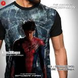 Kaos SUPERHERO, Kaos3D, Kaos Spiderman, Kaos Film The Amazing Spiderman