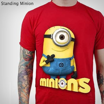 MINION Standing Minion - Kevin (kecuali HITAM)